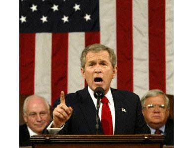 Bush: Y tú, ¿de qué me acusas?
